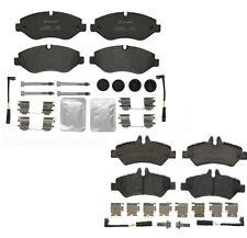 Front & Rear Brembo Low Met Brake Pads Kit for Mercedes Dodge FL Sprinter 2500