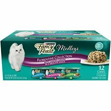 New listing Purina Fancy Feast Gravy Wet Cat Food Variety Pack, Medleys Florentine Collectio