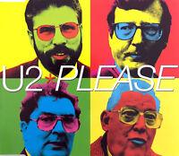 U2 Maxi CD Please - CD1 - Europe (EX+/EX+)