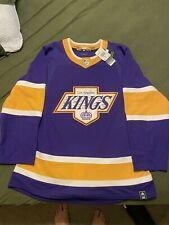 Los Angeles Kings Authentic Adidas Reverse Retro Jersey Size 52