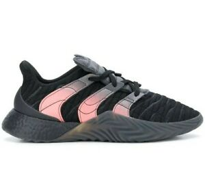 Adidas Men SOBAKOV BOOST EE5632 Black Sneakers Size 14
