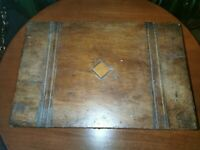 Antique  box MOP detail
