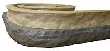 Stone Master Molds Chiseled Edge Concrete Countertop Edge Form Liner 10x3
