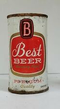 Best 12 oz. Flat Top Beer Can