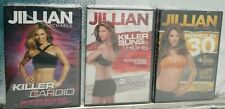 Jillian Michaels Bundle: Killer Cardio, Ripped in 30, Killer Buns & Thighs