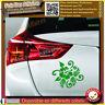 sticker autocollant fleur hibiscus deco voiture , ipad, frigo decal frigo meuble
