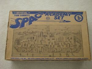 Marx 7012 Tom Corbett Space Academy  Play Set / Original Box ( Box Only )