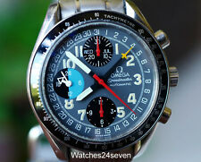Omega Speedmaster MK40 Schumacher Chronograph Triple Date, Multi Color Dial