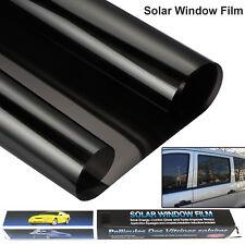 Negro Coche Furgoneta Limo Tintado Película Reducir Sol Deslumbramiento Ajuste Universal Kit de 3m X 50cm