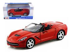2014 Chevrolet Corvette Stingray Red 1/24 Scale Diecast Model By Maisto 31501
