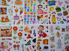Stickers Bumper Pack Kids Craft Planet Assorted Designs Pack of 10 Sheets