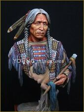 Young Miniatures Sioux Warrior YH1818 non peinte 1/10th Kit de buste Carl Reid
