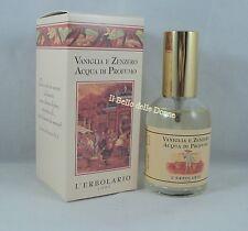 L'ERBOLARIO Acqua di profumo VANIGLIA ZENZERO 50ml donna vanilla ginger parfum