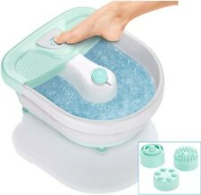 Pedicure Foot Spa Feet Massage Heat Bath with Bubbles Soaker Massaging Touchpad