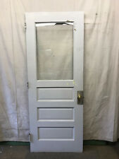 Single Tall Door Interior Glass Architectural Salvage School 35x89-3/4