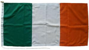 Irish national sewn flag Ireland republic stitched rope toggle marine grade Eire