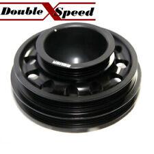 BLACK Crank Pulley for D SERIES SOHC 92-95 Civic 93-95 Civic Del Sol