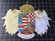 Hungary Car Badge