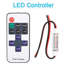 12V RF Wireless Switch Remote Controller Dimmer For Mini LED Strip Light NEW