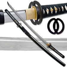 Clay Tempered 1060 High Carbon Steel Katana Best Miyamoto Certified RfB Sword