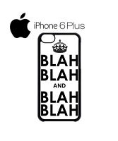 Blah Blah and Tumblr Glasses iPhone 4 5 5c 6 Plus S Phone Mobile Case Cover 1017