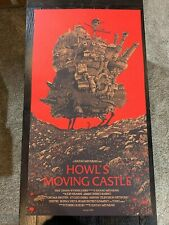 Howls Moving Castle Olly Moss Studio Ghibli Disney Print Mondo Numbered