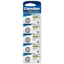 5x CR1632 Lithium Knopfzellen 3V 120mAh ø16x3,2mm Camelion Batterie im Blister