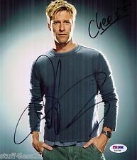 Aaron Eckhardt Signed 8x10 Auto PSA Actor Erin Brockovich The Dark Knight
