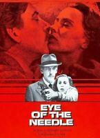 Eye of the Needle DVD Donald Sutherland 1981 Movie Kate Nelligan - Ken Follett