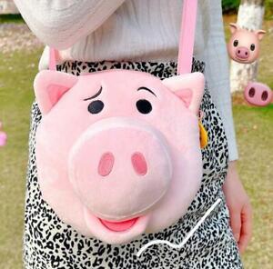 toy story pig shoulder bag musette bag Cycling bags handbag fashion new