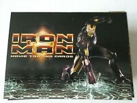 IRON MAN 1 MOVIE TRADING CARD~ COMPLETE 70 CARD SET~ 2008 MARVEL
