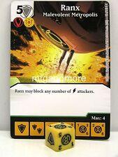 DC Dice Masters - #096 Ranx Malevolent Metropolis - War of Light