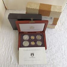 USA 1989 CONGRESSION 6 COIN GOLD AND SILVER PROOF/UNC SET - complete