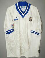 TENERIFE SPAIN 1996 1997 HOME FOOTBALL SHIRT JERSEY CAMISETA PUMA SIZE XL