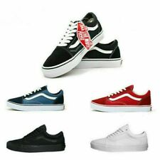 VAN Old Skool Skate Shoes All Size Classic Canvas Running Sneakers UK3.5-9