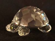 Swarovski Crystal- Large Turtle. Excellent condition