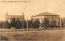 Library Deady Hall University of Oregon Eugene OR 1910c postcard