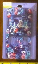 Claire's Claires Accessories You and Me Floral HTC One M8 Phone Cover £8 RRP