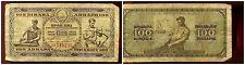 YOUGOSLAVIE   100  dinara   1 MAI 1946  ( J3 740236 )