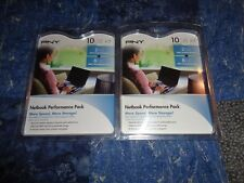 Lot 2 PNY 10GB Kit Netbook Performance Pack 2GB DDR2/ 8GB SDHC Flash Card Sealed