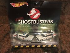 1/64 Hot Wheels  Entertainment Ghostbusters Ecto 1 and 2