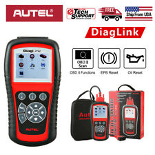 ABS SRS OBD2 Scanner Automotive Code Reader Scan Tool Diagnostic Autel Diaglink