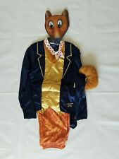 Children`s Fantastic Mr Fox Fancy Dress Costume. Age 9-10 Years Roald Dahl