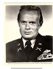 H340 Richard Widmark close up Time Limit 1957 8 x 10  vintage photograph