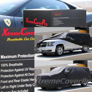 2015 CHEVROLET SUBURBAN Breathable Car Cover w/Mirror Pockets - Black