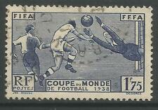 FRANCE. 1938. 1f75 World Cup Football Comemorative. SG: 612. Fine Used.
