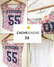 T-shirt fleuri CACHE CACHE 38
