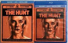THE HUNT BLU RAY DVD 2 DISC SET + SLIPCOVER SLEEVE FREE WORLD WIDE SHIPPING BUY