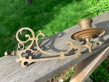 Lovely Old Antique Wall Sconce Candle Light Entrance