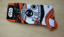 Loot Crate Star Wars Bb-8 socks, 1 pair shoe size 6-12, exclusive, Hypnotic Hats
